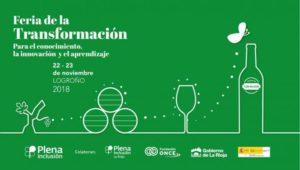 Feria de la Transformación de Plena inclusión – 22 y 23 noviembre 2018