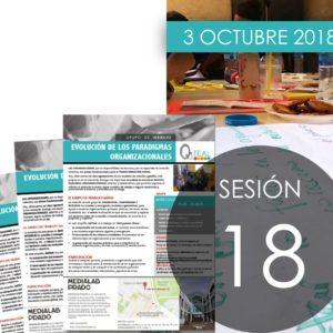 Sesiones QáTEAL: Sesión 18, octubre 2018