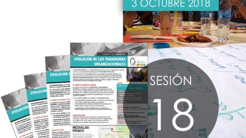 Sesión 18 Grupo Trabajo QáTEAL – 3 Octubre 2018